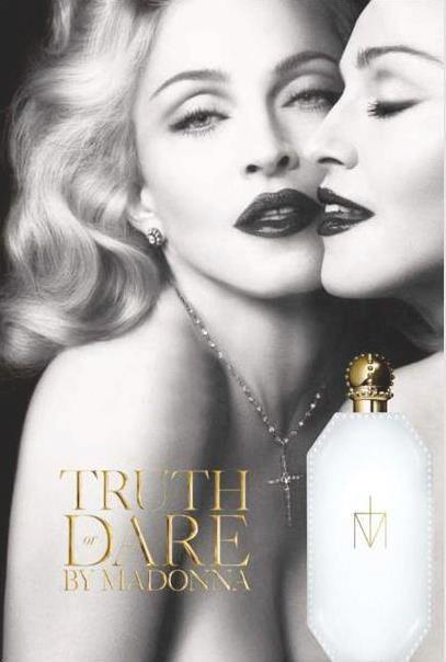 Madonna's Truth or Dare fragrance ad revealed!