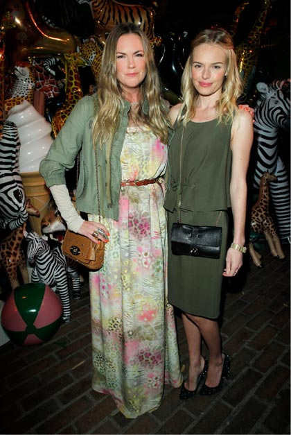 Mulberry's Emma Hill hosts fab party at Chateau Marmont in Los Angeles