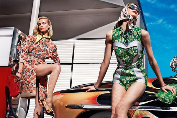 Prada goes vintage for its spring/summer 2012 ad campaigns