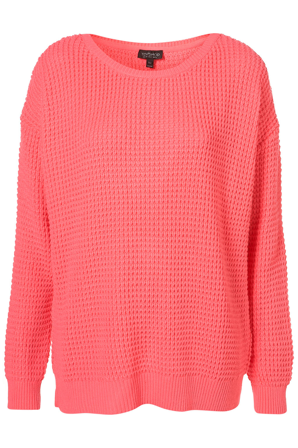 Deal of the day: Topshop Knitted Textured Stitch Fluro Jumper