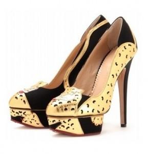 Charlotte Olympia ninivah leopard pumps