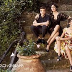 Monica Bellucci stars in Dolce and Gabbana's spring/summer 2012 ad campaign