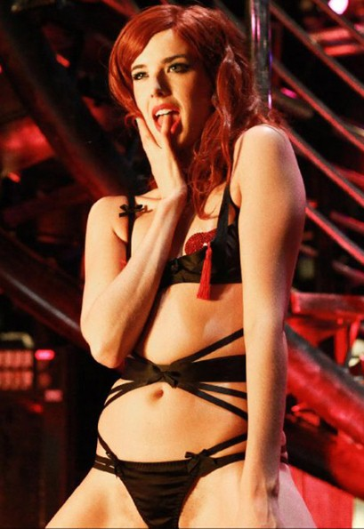 First Look: Agyness Deyn as a stripper in Pusher