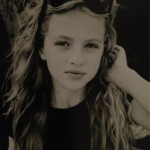 Who is this new 11-year-old model? Hint: she has a rockstar daddy!