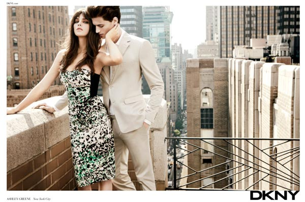 First Look: Ashley Greene's DKNY campaign images