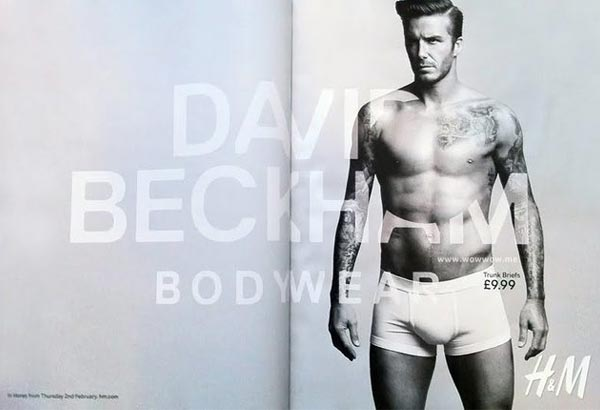 David Beckham's H&M bodywear ad revealed, hits stores next month!