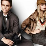 Brand new pics (and even a cheeky vid) of Cara Delevingne and Eddie Redmayne for Burberry spring/summer 2012