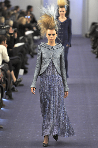 Chanel takes to the skies for Haute Couture spring/summer 2012