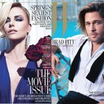 W magazine goes Hollywood with Charlize Theron and Brad Pitt