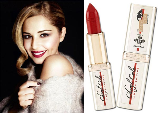Cheryl Cole launches limited edition lipstick with L'Oreal Paris