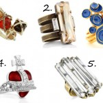 Accessorize to the max with these gorgeous cocktail rings!