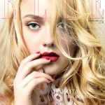 Dakota Fanning for Elle UK's February 2012 issue