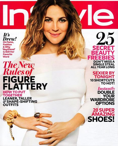 """I would love to slow things down a bit,"" Drew Barrymore tells February's InStyle"