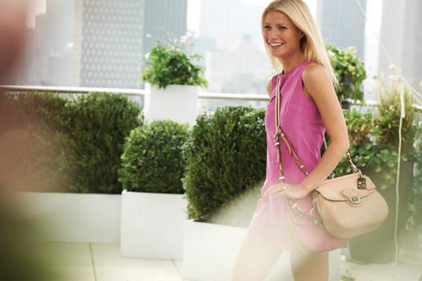 Gwyneth Paltrow's Coach spring/summer 2012 ads prove that less is definitely more