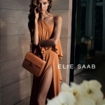 Karlie Kloss stars in the Elie Saab spring/summer 2012 ad campaign