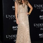 Kate Beckinsale gives Kate Middleton a run for her money in Jenny Packham