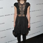 Keira Knightley returns to the red carpet in a lacy Nina Ricci dress