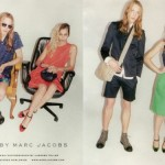 We're in two minds about Alice Dellal for the Marc by Marc Jacobs spring/summer 2012 ad campaign