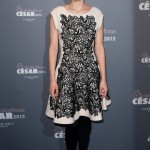 Marion Cotillard rocks the faux lace trend at Cesar's Revelations Dinner
