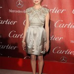 Michelle Williams is perfect in Prada at the Palm Springs International Film Festival