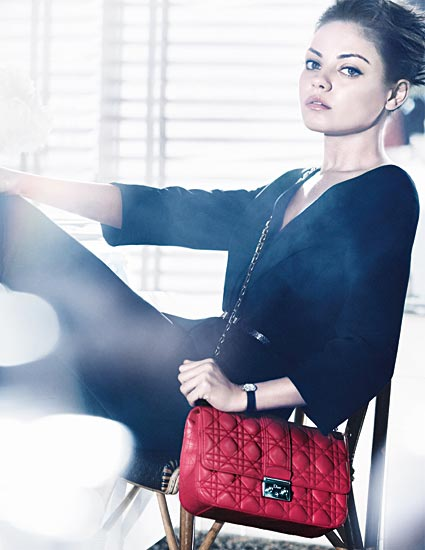Top stories this week: Christian Dior bags Mila Kunis, 10 million people like Burberry, and two little 'angels' are on their way!