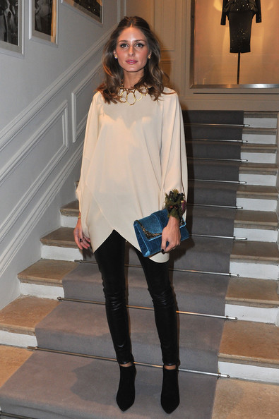 Seriously crushing on Olivia Palermo's chic FROW look