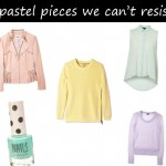 Are you going pastel crazy? 5 pastel pieces we can't resist!