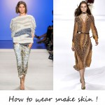 Unleash your inner animal in snakeskin. Here's how to wear it!
