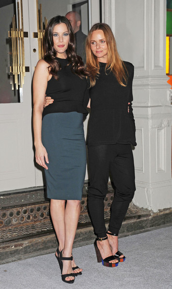 Stella McCartney celebrates the opening of her new Soho store in style