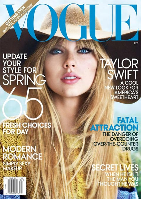 Taylor Swift makes her Vogue debut with gorgeous US February 2012 cover