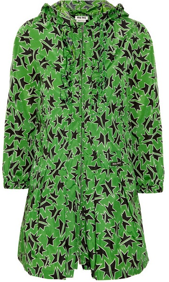 Love or Hate? Miu Miu Star-print raincoat