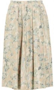 Acne Tafetta Midi Skirt