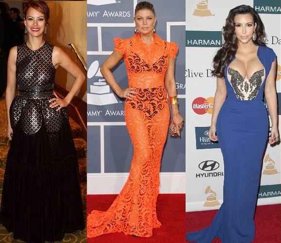 STYLE JURY: Rate or Slate Berenice Bejo in Alaïa, BEP Fergie in Jean Paul Gaultier and Kim Kardashian in Antonio Berardi?
