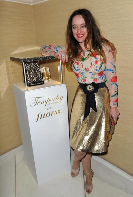 Alice Temperley unveils her gorgeous Temperley London for Filofax collection at a lavish London party