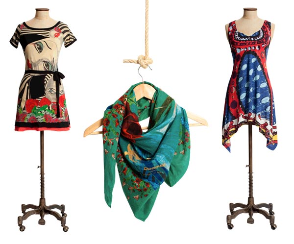 Win €200 to spend at Desigual.com just by blogging about your favourite garment!