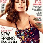 Eva Mendes talks to Marie Claire US about body image, Ryan Gosling, and her girl crush on Julianne Moore
