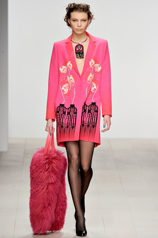 London Fashion Week AW12: Psychedelic fun at Holly Fulton