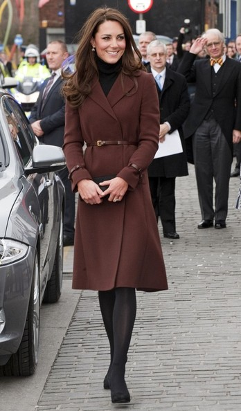 Kate Middleton wears Hobbs and Oasis in Liverpool