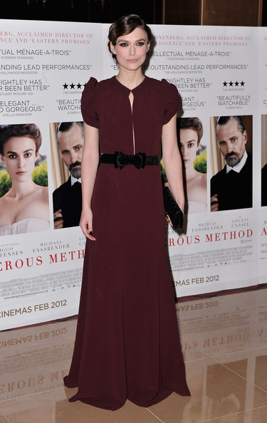 Is this Keira Knightley's best red carpet look ever?