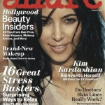Kim Kardashian rocks the natural look for Allure magazine