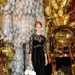 Alexa, Lana, Elizabeth and Michelle attend fab Mulberry dinner at London's snazzy Savile Club