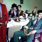 Aymeline Valade and friends party with snakes for Lanvin's spring/summer 2012 video