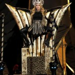 Madonna wows the Superbowl crowd in Givenchy Haute Couture (watch her entire performance here!)