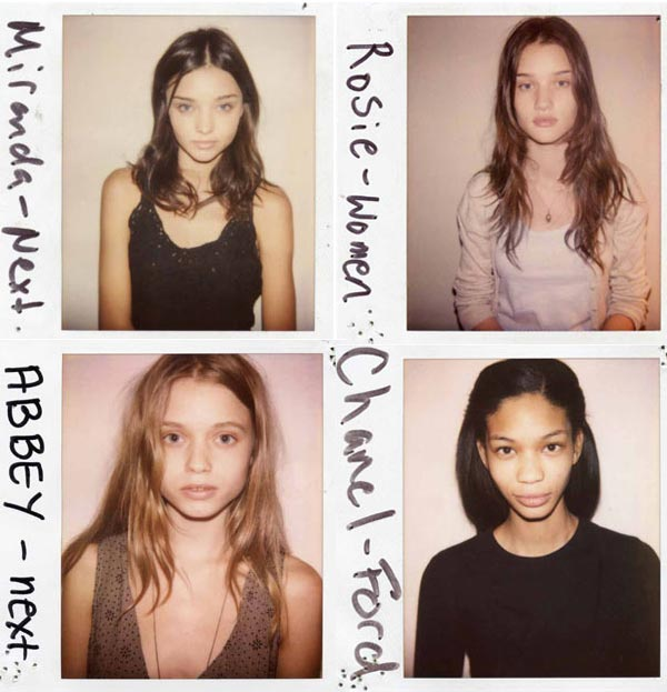 See Miranda Kerr, Joan Smalls, Rosie Huntington Whiteley, Chanel Iman and more top models WITHOUT make-up