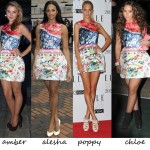 Celebs in Mary Katrantzou for Topshop… pick a favourite!