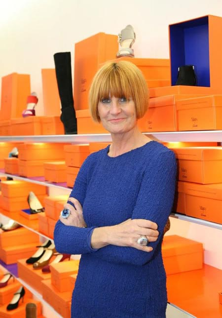 Meet Mary Portas and browse her spring/summer 2012 collection this London Fashion Week