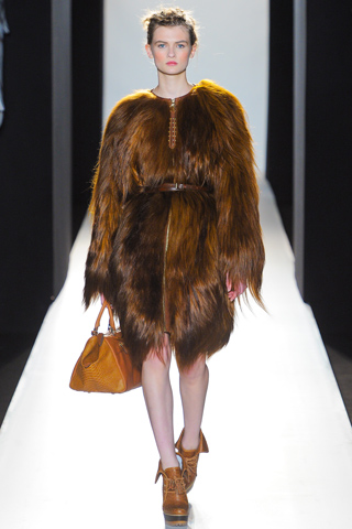 London Fashion Week AW12: Wild and wonderful Mulberry!