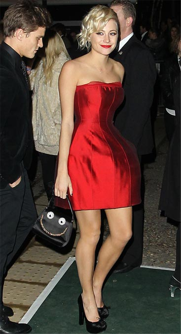 Pixie Lott wins us over with her red Brit Awards after-party dress!
