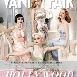 Up-and-coming starlets are pretty in pastel for Vanity Fair's Hollywood 2012 issue