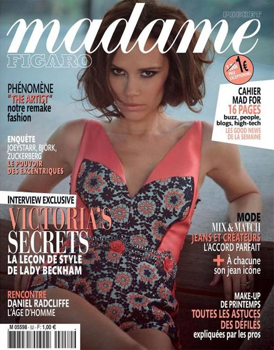 Victoria Beckham rocks Prada and Alexander Wang for Madame Figaro